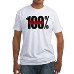 100 Percent Trans Fat Free Fitted T-Shirt