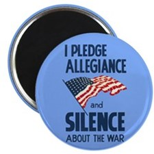 "Pledge Silence 2.25"" Magnet (100 pack)"