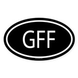 GFF Oval Decal