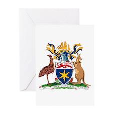 Hobart Coat of Arms Greeting Card