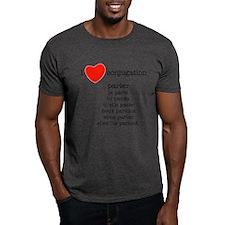 I love conjugation T-Shirt