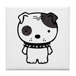 Spike Pit Bull Tile Coaster