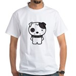Spike Pit Bull White T-Shirt