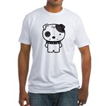 Spike Pit Bull Fitted T-Shirt