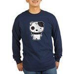 Spike Pit Bull Long Sleeve Dark T-Shirt