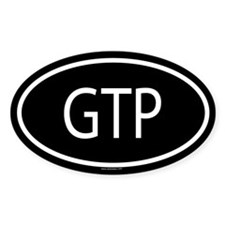 GTP Oval Decal