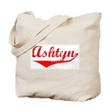 Ashtyn Vintage (Red) Tote Bag