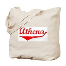 Athena Vintage (Red) Tote Bag