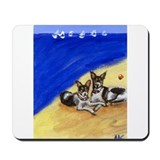 RAT TERRIER beach Design Mousepad