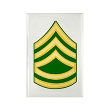 Unique National guard soldier Rectangle Magnet