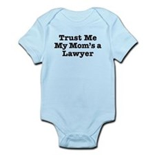 Trust Me My Mom's a Lawyer Onesie