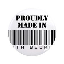 "made in South Georgia 3.5"" Button"