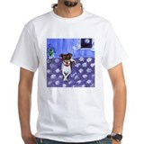 RAT TERRIER folk art design Shirt
