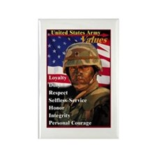 Cute Military personalized Rectangle Magnet