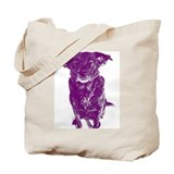 Purple Bella Tote Bag