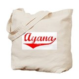 Ayana Vintage (Red) Tote Bag