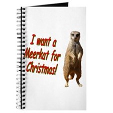 Christmas Meerkat Journal