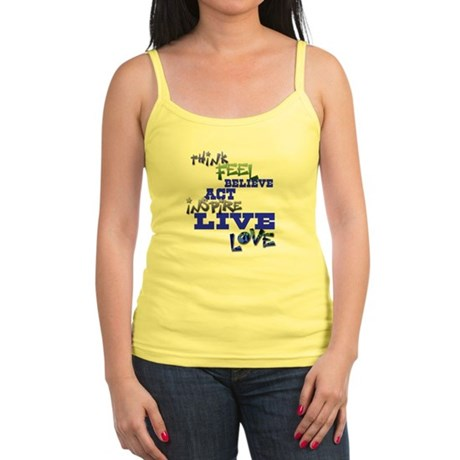 Think, Feel, Believe, Act, In Jr. Spaghetti Tank