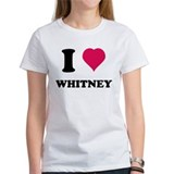 I love Whitney Tee