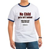 No child gets left behind T