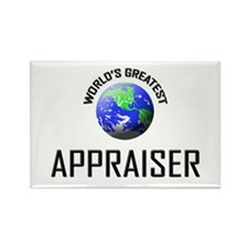 World's Greatest APPRAISER Rectangle Magnet (10 pa