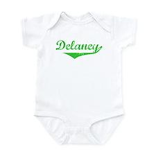 Delaney Vintage (Green) Infant Bodysuit