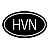 HVN Oval Decal