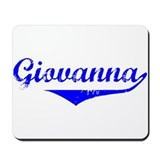 Giovanna Vintage (Blue) Mousepad
