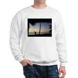 Tiki Torch at Sunset Sweatshirt