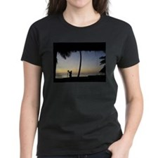 Tiki Torch at Sunset Tee