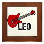 Guitar - Leo Framed Tile