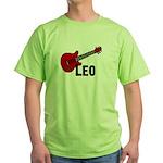 Guitar - Leo Green T-Shirt