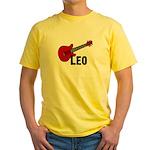 Guitar - Leo Yellow T-Shirt