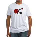 Guitar - Leo Fitted T-Shirt
