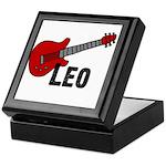 Guitar - Leo Keepsake Box