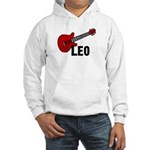 Guitar - Leo Hooded Sweatshirt