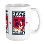 Obey the Jack Russell Terrier! Large Mug
