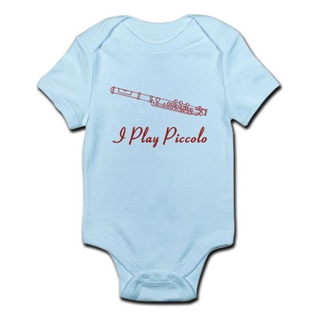 I Play Piccolo Infant Bodysuit
