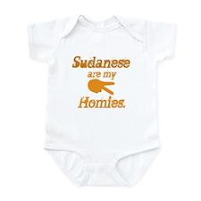Sudanese are homies Infant Bodysuit