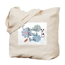 Cute Licensed practical nurse Tote Bag