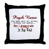 Cute Nurse Throw Pillow