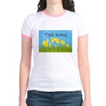 Think Spring Jr. Ringer T-Shirt