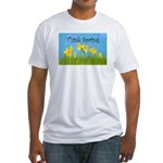 Think Spring Fitted T-Shirt