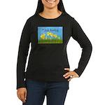 Think Spring Women's Long Sleeve Dark T-Shirt