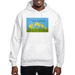 Think Spring Hooded Sweatshirt