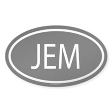 JEM Oval Decal