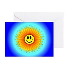 Sun Burst Greeting Cards (Pk of 10)
