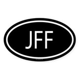 JFF Oval Decal