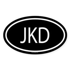 JKD Oval Decal