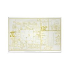 Golden Section Magnet (10 pack)